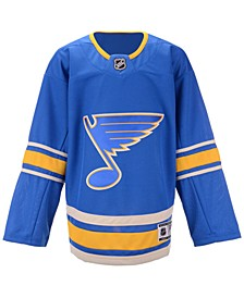 St. Louis Blues Alternate Blank Premier Jersey, Big Boys (8-20)