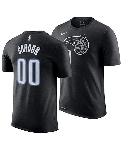 9f6b1146de7 Nike Men's Aaron Gordon Orlando Magic City Player T-Shirt 2018 ...