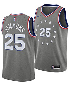 Ben Simmons Philadelphia 76ers City Edition Swingman Jersey 2018, Big Boys (8-20)