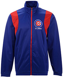 G-III Sports Men's Chicago Cubs Clutch Track Jacket