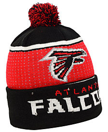 Forever Collectibles Atlanta Falcons Big Logo Light Up Knit Hat