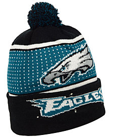 Forever Collectibles Philadelphia Eagles Big Logo Light Up Knit Hat