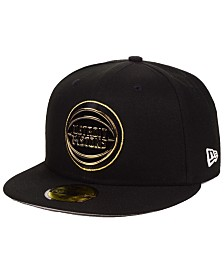 New Era Detroit Pistons Metal Mash Up 59FIFTY-FITTED Cap
