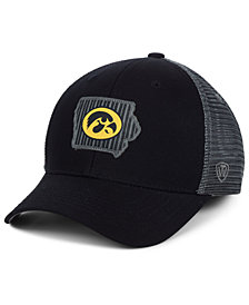 Top of the World Iowa Hawkeyes Back the School Flag Trucker Cap
