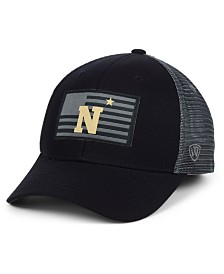 Top of the World Navy Midshipmen Back the School Flag Trucker Cap