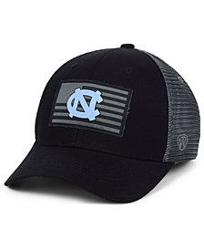 Top of the World North Carolina Tar Heels Back the School Flag Trucker Cap