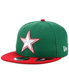 Dallas Cowboys Basic Fashion 9FIFTY Snapback Cap