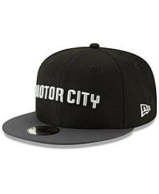 New Era Detroit Pistons City Series 2.0 9FIFTY Snapback Cap