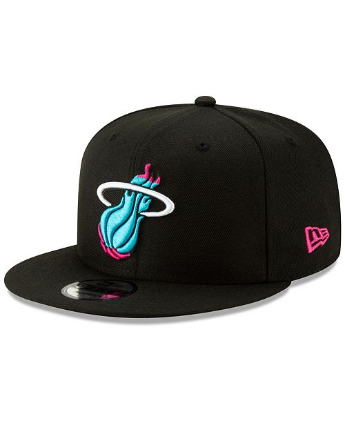 15179e567ec New Era Miami Heat City Series 2.0 9FIFTY Snapback Cap - Sports Fan ...