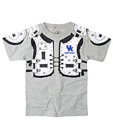 Wes & Willy Kentucky Wildcats Shoulder Pads T-Shirt, Toddler Boys (2T-4T)