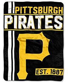 Pittsburgh Pirates Micro Raschel Walk Off Blanket