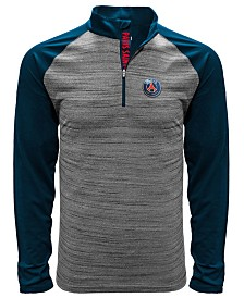 Level Wear Men's Paris Saint-Germain Club Team Vandal Quarter-Zip Pullover