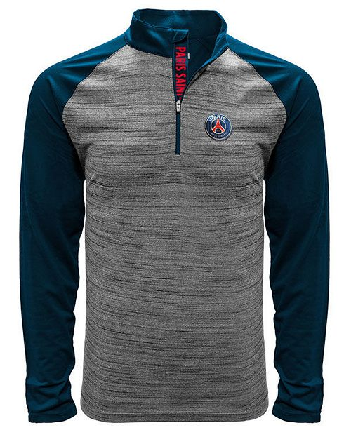 LevelWear Level Wear Men's Paris Saint-Germain Club Team Vandal Quarter-Zip Pullover