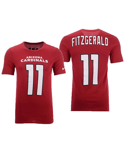 6a2750338e2 ... Nike Men's Larry Fitzgerald Arizona Cardinals Pride Name and Number  Wordmark T-Shirt ...
