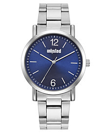 Unlisted Men's Silvertone Alloy Sport Watch, 36MM