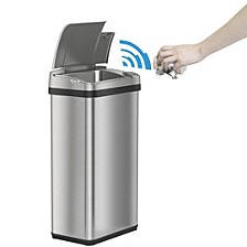 4 Gal Stainless Steel Touchless Trash Can with Deodorizer & Fragrance