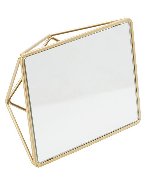 Home Details Geometric Design Vanity Mirror