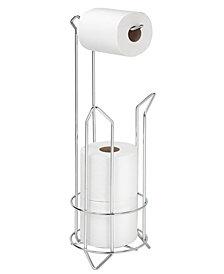 Bath Bliss Toilet Paper Holder and Reserve