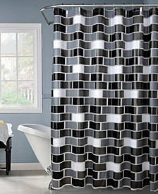 Brick Design Shower Curtain