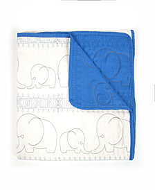 Baby Quilted Blanket Elephant