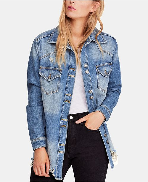 0c3067bdd0 Free People Moonchild Shirt Jacket   Reviews - Jackets   Vests ...