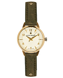 Lucky Brand Men's Dillon Green Nato Watch 42mm
