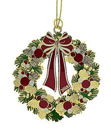 ChemArt 2018 Macy's 3D Wreath Ornament