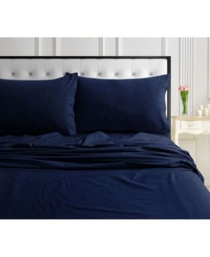 170-gsm Ultra-Soft Cotton Flannel Solid Extra Deep Pocket Queen Sheet Set Bedding