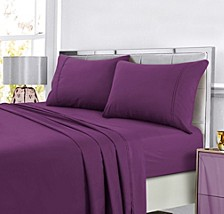 Super Soft Solid DP Easy-Care Extra Deep Pocket Twin XL Sheet Set