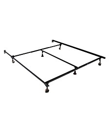 Hagemen Queen King Adjustable Bed Frame, Quick Ship