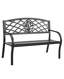 Palmer Slatted Outdoor Bench
