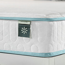 "Zinus Mint Green 6"" Hybrid Spring Mattress- Firm Support Delivered in a Box, Queen"