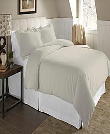 Luxury Size Cotton Flannel Duvet Set King Cal King