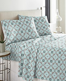 Heavy Weight Cotton Flannel Sheet Set Queen