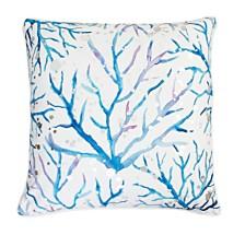 "Tygna Coral Pillow, 20"" x 20"""
