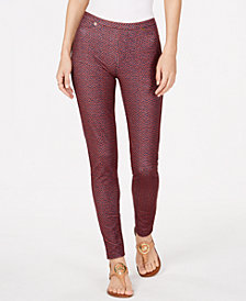 MICHAEL Michael Kors Bud Printed Jeggings, Regular & Petite