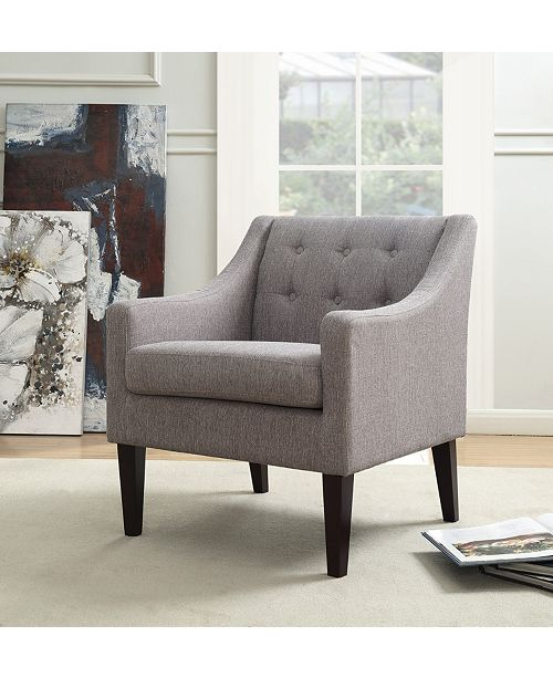 Stupendous Living Express Morgan Mid Century Tailored Tufted Accent Uwap Interior Chair Design Uwaporg