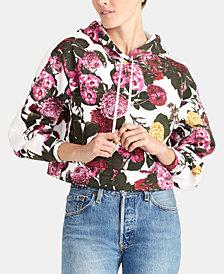 RACHEL Rachel Roy Ginger Printed Hoodie Sweatshirt