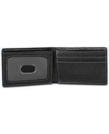 Men's Leather Slimfold Wallet