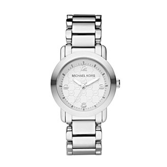 0c62cc713dfe Michael Kors Women s Janey Stainless Steel Bracelet Watch 34mm   Reviews -  Watches - Jewelry   Watches - Macy s