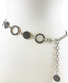 Accessories Braided And Ribbed Disc Chain