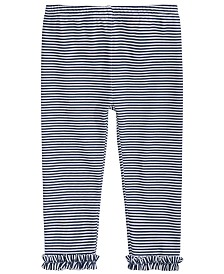 First Impressions Baby Girls Striped Leggings, Created for Macy's
