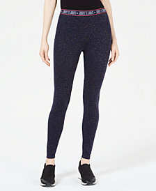 Juicy Couture Sparkle Logo-Waist Leggings