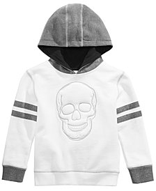 Epic Threads Little Boys Skull Graphic Hoodie, Created for Macy's