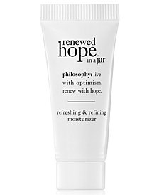 Receive a Free Renewed Hope in a Jar, 7ml with any $50 Skincare purchase