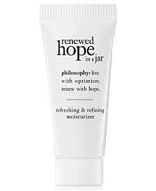 Receive a Renewed Hope in a Jar, 7ml with $35 philosophy purchase