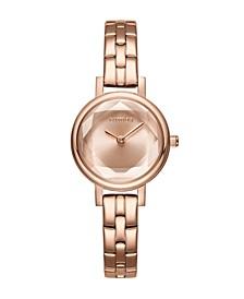 Venice Gem Rose Gold Bracelet Women's Watch