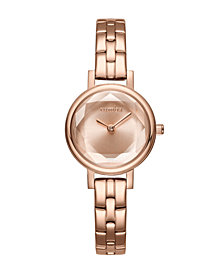 RumbaTime Venice Gem Rose Gold Bracelet Women's Watch