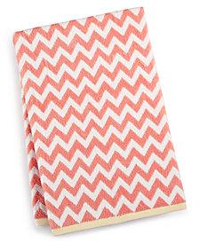 Martha Stewart Collection Chevron Spa Bath Towel, Created for Macy's
