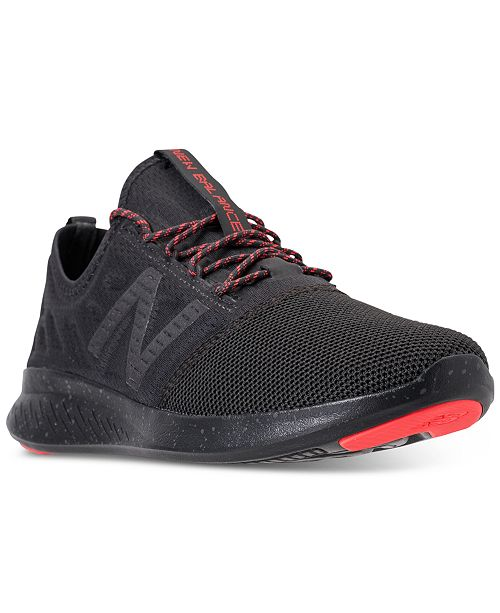 c90845e37ae33 ... New Balance Women's FuelCore Coast V4 City Stealth Running Sneakers  from Finish ...